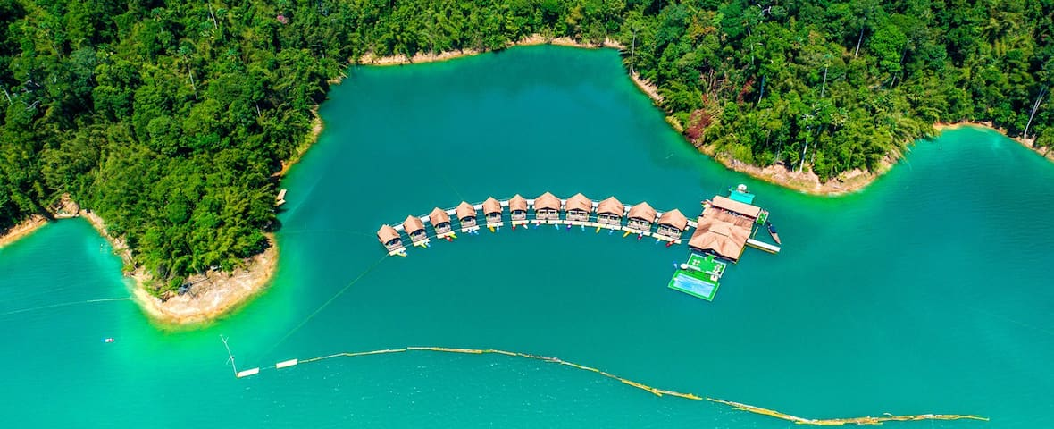 500Rai Khao Sok Floating Resort - Khao Wong - Bed & Breakfast