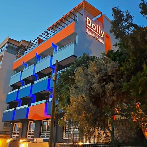 Dolly Apartments 1+1 kara manzaralı daire