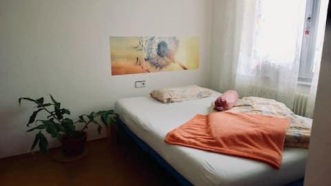 Cosy Quiet Private Room Next to Munich Trade Fair