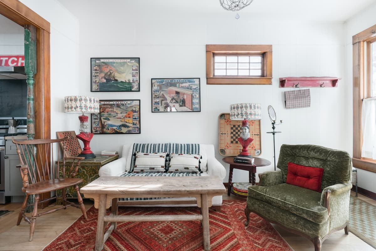 Soulful Vintage Charm in a Downtown Minturn Home