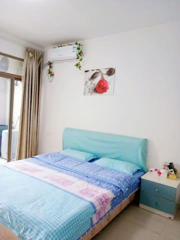 大学城博士后温馨单身公寓大床房 - Fuzhou Shi - Apartment
