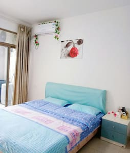 大学城博士后温馨单身公寓大床房 - Fuzhou Shi - Lägenhet