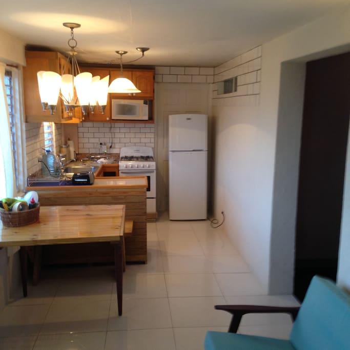 New stove and fridge
