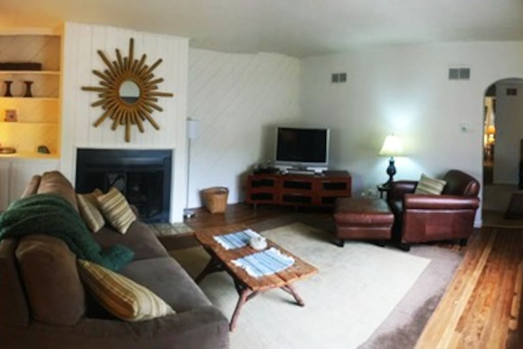 Living room with lots of space