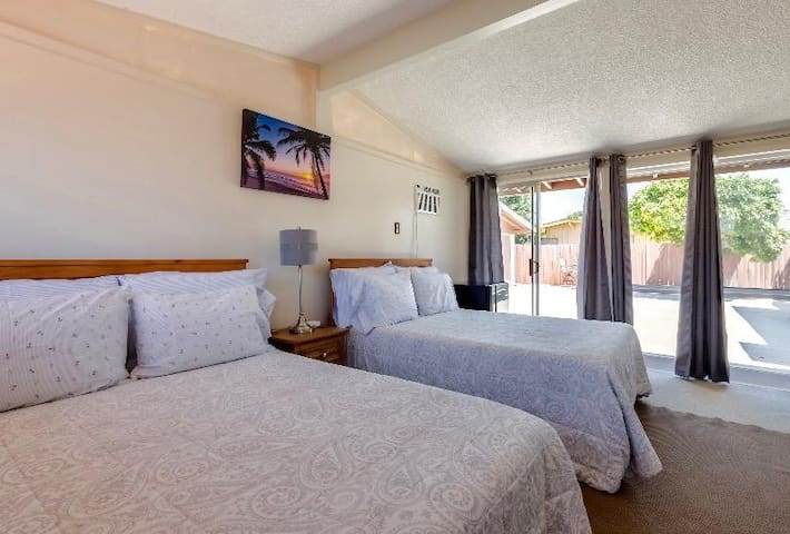 Clean master suite with total  private access