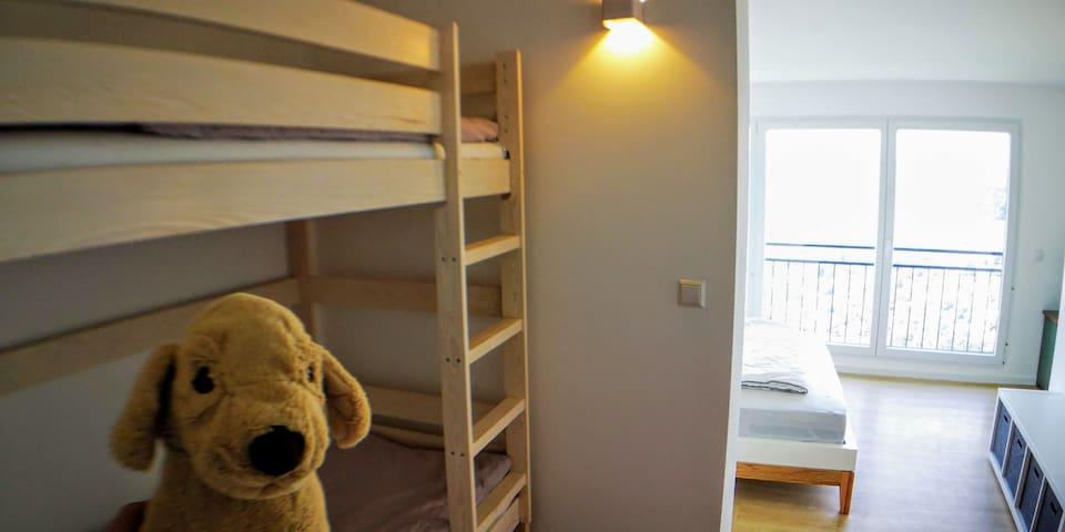 Etagenbett für Kinder aber auch Erwachsene