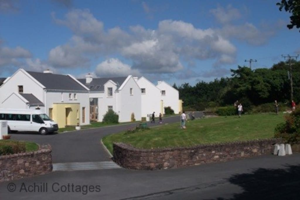 Achill Cottages outside play area