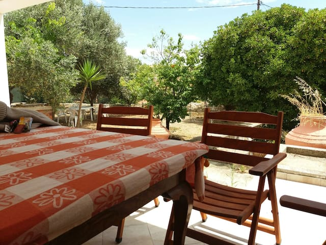 2 bed private room in Varos village Lemnos