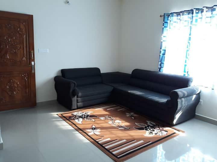 Anjaneya Holidays- 2bhk serviced Apartments