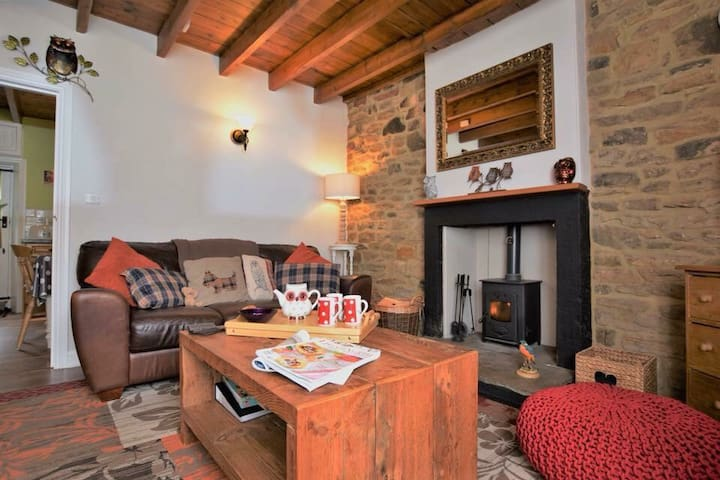 Cosy & Rural Kingfisher Cottage Butterknowle
