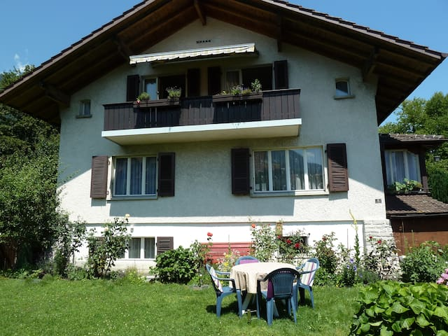 Apartment Rose, Interlaken Ost for 2 persons - Interlaken - Pis
