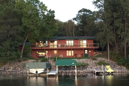 Beautiful vacation home on the Whitefish Chain.