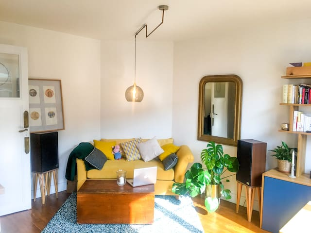 Bright charming appartement at Canal de l'ourcq