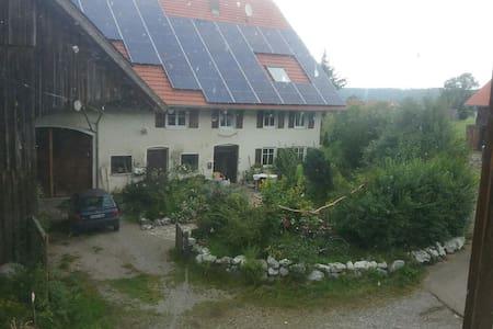 In idyllischer scheune übernachten - Aichstetten - Casa