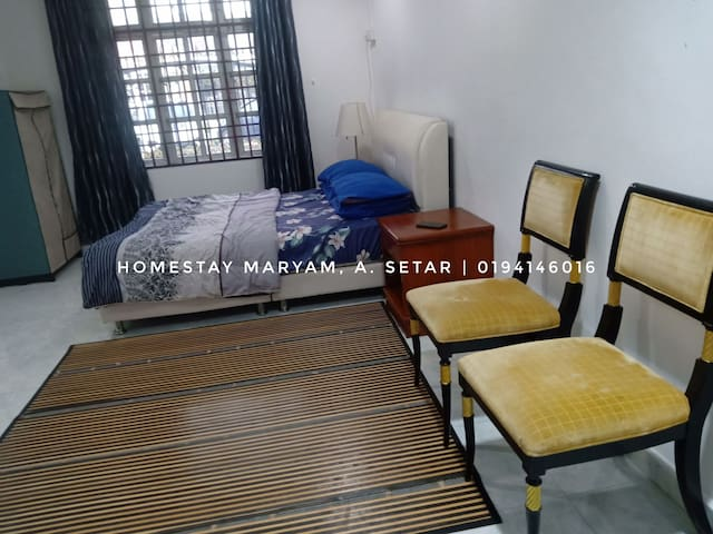 HOMESTAY ALOR SETAR, SEMI-D HOUSE FULLY AIR-COND