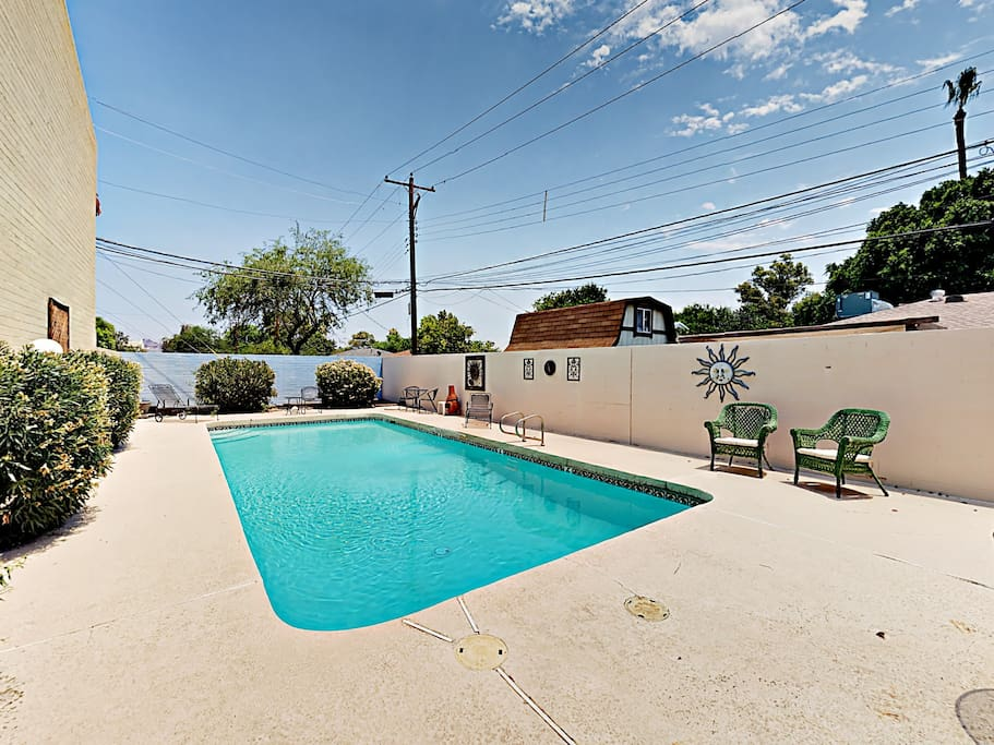Relax and take a dip into the shared pool