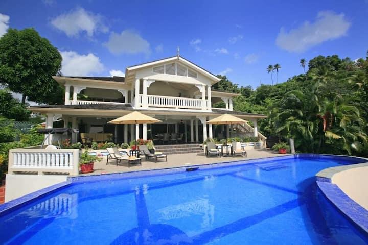 Ashiana in Marigot Bay by Personal Villas - Spacious Villa with Magnificent Infinity Pool