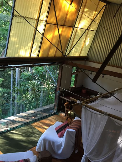 Waking up in Australian bush architecture