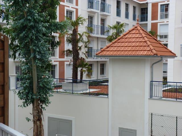 Vu du balcon côté Sud