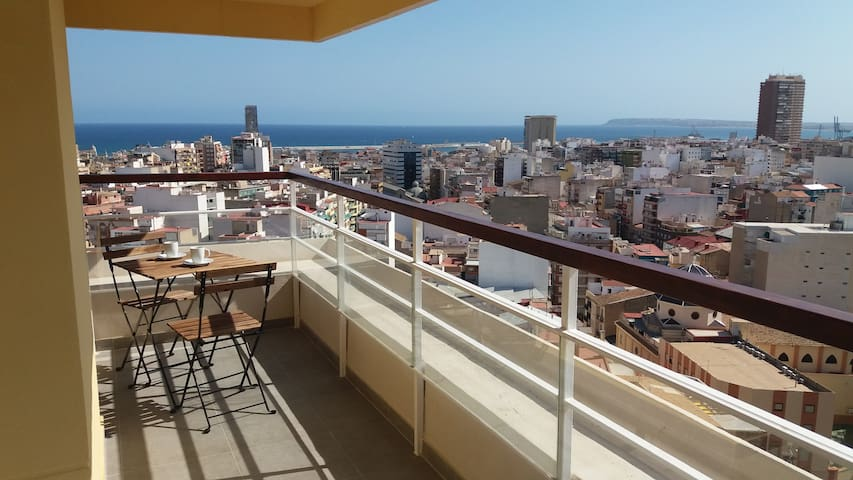 Vistas desde la terraza principal - Main terrace view
