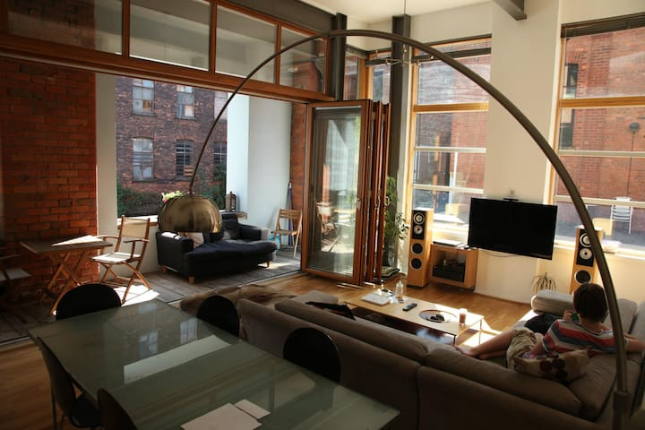 Snug room in a spacious and relaxing city pad - Manchester - Flat