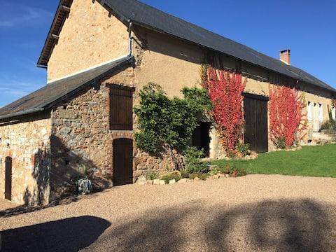 Longère1889 resto télétravail 4G sauna Jacuzzy vtt