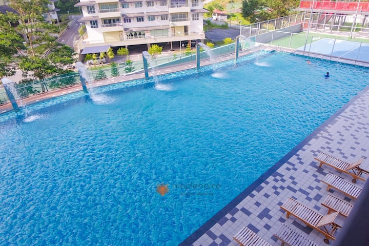 New & Modern 2BR Apartment Geo38 Residence Genting