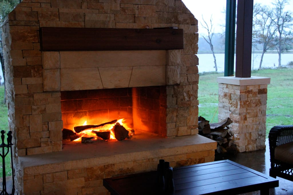 Cozy up next to fire and make s'mores