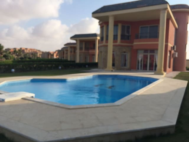 Luxury Villa With a Private Pool in SidiAbdRahman