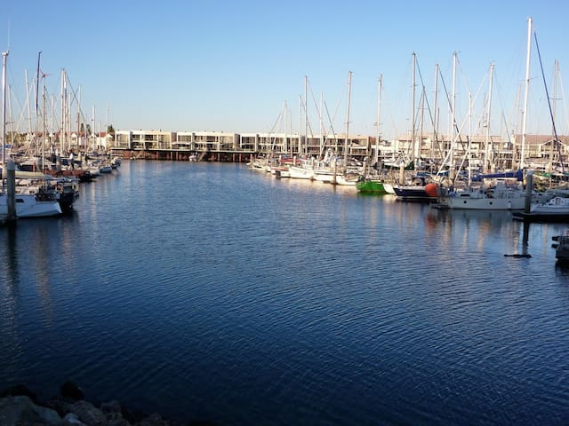 Marina view nearby
