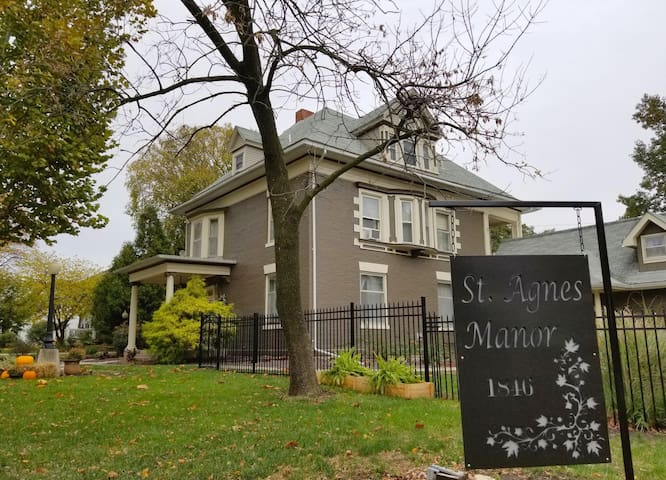 St. Agnes Manor, a home away from home!