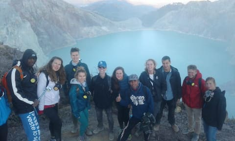 Ijen Crater East Java Homestay and Tour Organizer