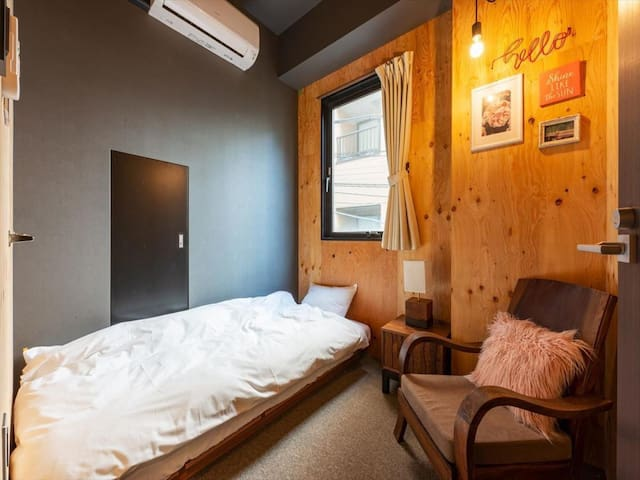 【4 minutes walk from Kuramae station】 Single room (Wi-Fi · Kitchen)