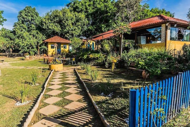 Casa no campo a poucos km de Brasília.