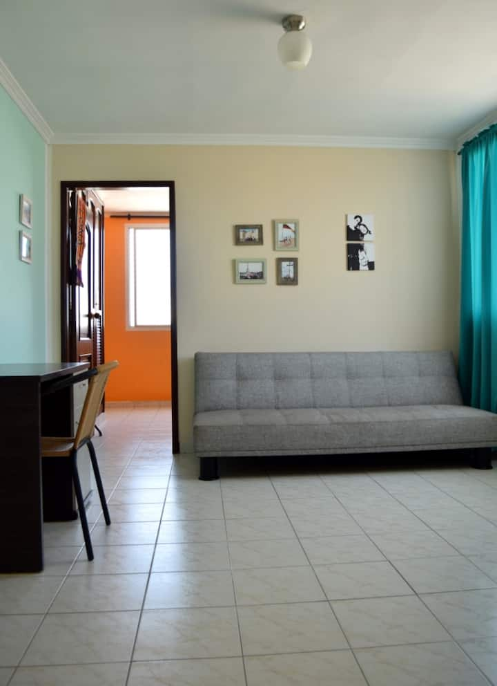 Apartment in Bquilla's Best Location, Bus Station