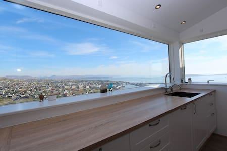 Private penthouse apartment with a beautiful view