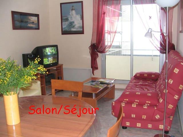Appartement T3 Belle vue mer 4/6 personnes - Saint-Quay-Portrieux - Departamento