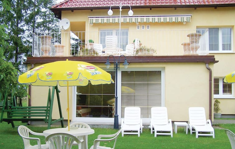 Holiday apartment with 1 room on 25 m² in Grzybowo