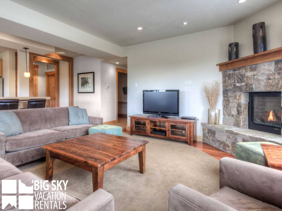 Big Sky Resort, Beaverhead Luxury Suite 1447, Living, 2