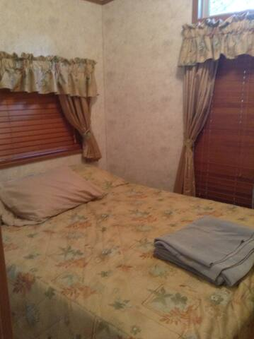 Kempie's Cabin Master Bedroom