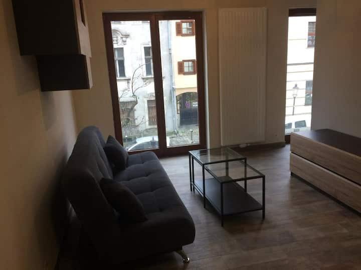 Przestronny Apartament 107 przy Starym Rynku