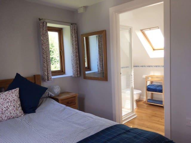 Bedroom with en suite shower room