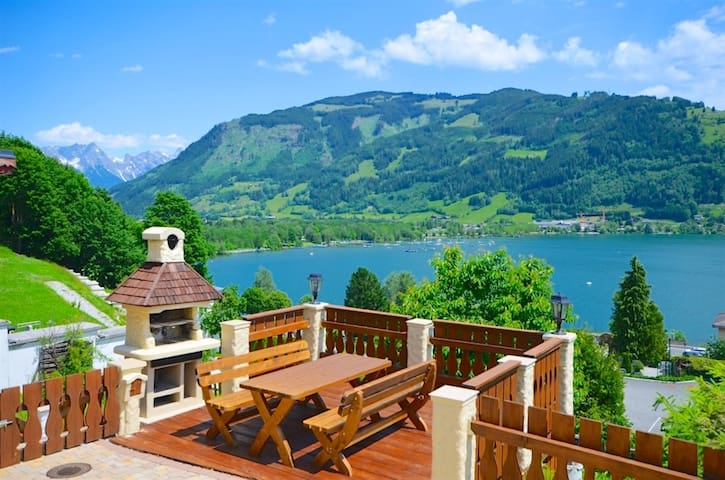 Chalet Over-The-Lake - chalet in a typical Austrian Alpine style, beautiful view over the lake