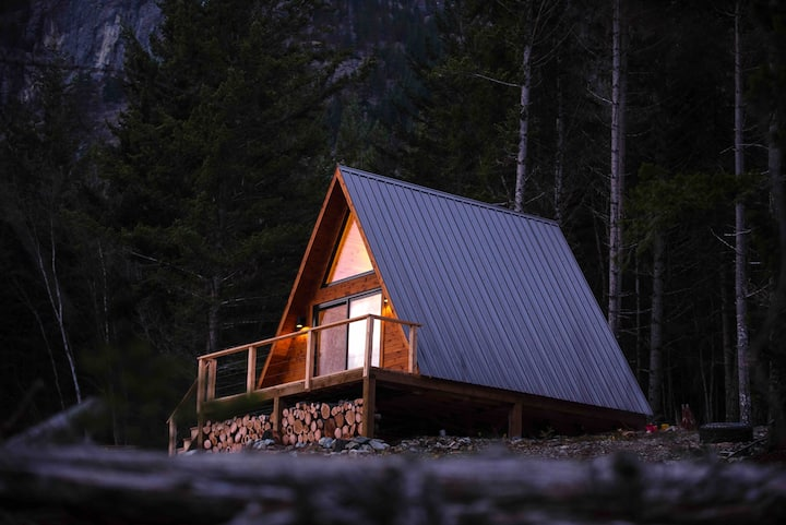 Firvale Wilderness A-Frame Cabin