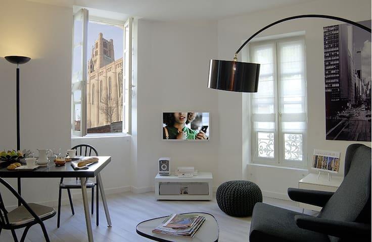 Appartement hyper-centre, calme avec garage fermé - Albi - Apartemen