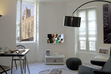 Appartement hyper-centre, calme avec garage fermé - Huoneisto