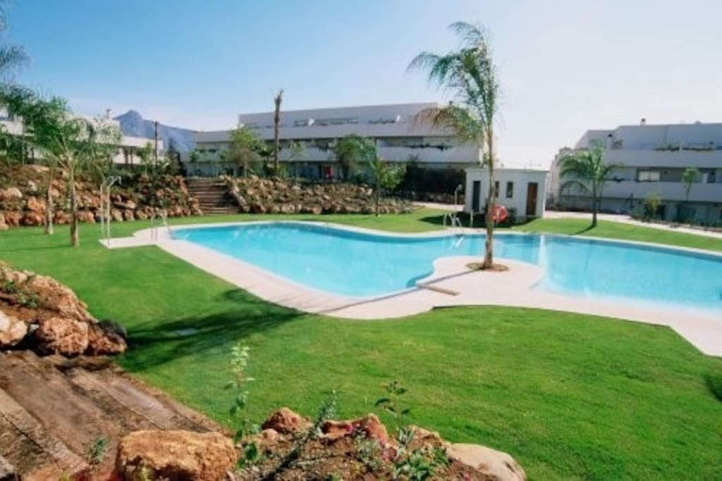 top swimming pool