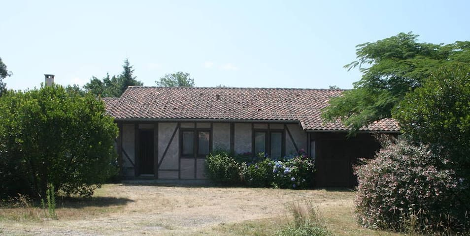 Belle villa style landais - Bias