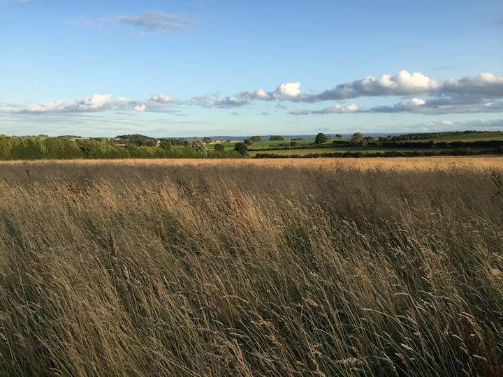 Luxury and amazing views near Hadrian's Wall