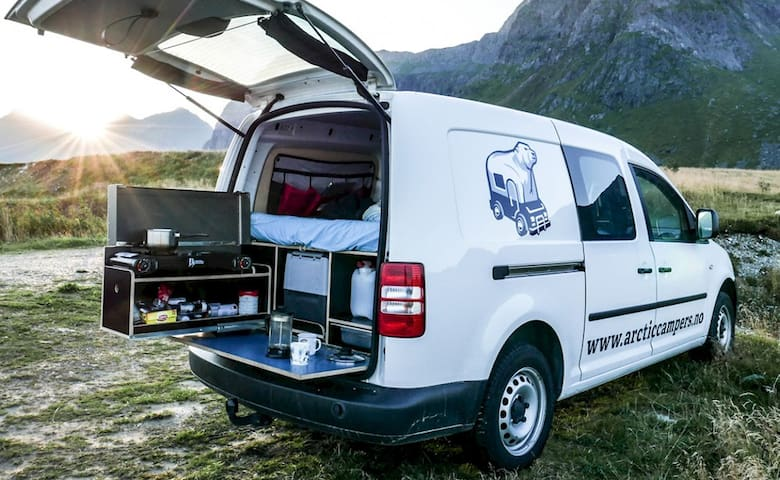 Mini Camper in Lofoten - Ramberg